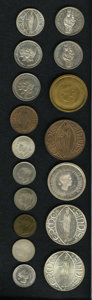 Luxembourg, Luxembourg: Seventeen-piece lot of assorted Essais and medallicessais and Patterns in various metals:... (Total: 17 coins)