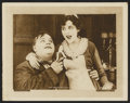 "Movie Posters:Short Subject, Rough House (Paramount, R-1919). Lobby Card (11"" X 14""). ShortSubject...."