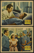 "Movie Posters:Adventure, The Rains Came (20th Century Fox, 1939). Lobby Cards (2) (11"" X14""). Adventure.... (Total: 2 Items)"
