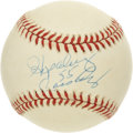 Autographs:Baseballs, Hopalong Cassidy Single Signed Baseball. Cassidy played nineseasons for the Detroit Lions and is a member of the College F...