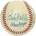 Autographs:Baseballs, Hall of Fame and Others Signed Baseball. Five members of theBaseball Hall of Fame have graced the OAL ( Brown) baseball wi...