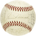 Autographs:Baseballs, 1971 Montreal Expos Team Signed Baseball. The ONL (Feeney) baseballis graced with twenty-seven autographs from the 1971 te...