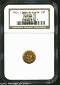 Commemorative Gold: , 1904 Lewis and Clark MS64 NGC. ...