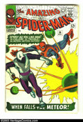 Silver Age (1956-1969):Superhero, Amazing Spider-Man #36 (Marvel, 1966) Condition: VG+. Steve Ditko cover and art. First appearance Looter. Overstreet 2003 VG...