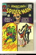 Silver Age (1956-1969):Superhero, Amazing Spider-Man #37 (Marvel, 1966) Condition: FN. Steve Ditko cover and art. Intro Norman Osborn. Overstreet 2003 FN 6.0 ...