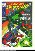 Silver Age (1956-1969):Superhero, Amazing Spider-Man #78 (Marvel, 1969) Condition: VF+ John Romita Sr. cover and art. First appearance of the Prowler. Overstr...