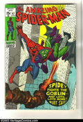 Bronze Age (1970-1979):Superhero, Amazing Spider-Man #97 (Marvel, 1971) Condition: VF+. John Romita Sr cover. Gil Kane art. Drug issue not approved by Comics ...