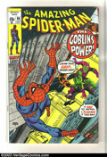 Bronze Age (1970-1979):Superhero, Amazing Spider-Man #98 (Marvel, 1971) Condition: FN/VF. Gil Kane cover and art. Drug issue not approved by Comics Code Autho...