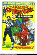 Bronze Age (1970-1979):Superhero, Amazing Spider-Man #129 (Marvel, 1974) Condition: FN/VF. John Romita Sr. cover. First appearance Jackal and the Punisher. Sc...