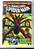 Bronze Age (1970-1979):Superhero, Amazing Spider-Man #135 (Marvel, 1974) Condition: VF-. John Romita Sr. cover. Second full appearance of the Punisher. Overst...