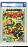 Bronze Age (1970-1979):Superhero, Amazing Spider-Man #168 (Marvel, 1977) CGC NM 9.4 Off-white to white pages. Ross Andru and Mike Esposito art. Overstreet 200...