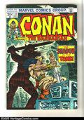 Bronze Age (1970-1979):Miscellaneous, Conan the Barbarian Group of 62 (Marvel, 1973) Condition: AverageVF/NM. Here is a gigantic lot of Conan titles; issues #31,...(Total: 62 Comic Books Item)