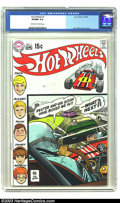 Bronze Age (1970-1979):Miscellaneous, Hot Wheels #1 (DC, 1970) CGC VF/NM 9.0 Off-white to white pages.Classic Alex Toth cover and artwork. Overstreet 2003 VF/NM ...