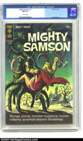 Silver Age (1956-1969):Adventure, Mighty Samson #11 (Gold Key, 1967) CGC NM 9.4 Off-white pages. Otto Binder scripts with Jack Sparling art. Overstreet 2003 N...