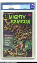Bronze Age (1970-1979):Miscellaneous, Mighty Samson #31 (Gold Key, 1976) CGC NM 9.4 Off-white to whitepages. Jack Abel script and art. Overstreet 2003 NM 9.4 val...