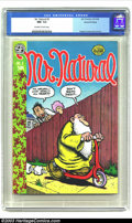 Bronze Age (1970-1979):Alternative/Underground, Mr. Natural #2 (Apex Novelties, 1971) CGC NM- 9.2 Off-white to white pages. Robert Crumb did both front and back covers as w...