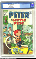 Bronze Age (1970-1979):Humor, Peter the Little Pest #2 (Marvel, 1970) CGC NM+ 9.6 Cream tooff-white pages. Highest grade yet certified by CGC for this is...