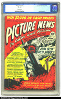 Golden Age (1938-1955):Non-Fiction, Picture News #1 (Lafayette Street Corp., 1946) CGC FR 1.0 Off-whitepages. Jack Kirby and Joe Simon art. Atom bomb cover and...