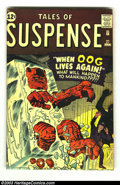 Silver Age (1956-1969):Adventure, Tales of Suspense #27 (Marvel, 1962) Condition: VG+. Cool Kirby monster book. Overstreet 2003 VG 4.0 value = $36....