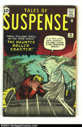 Silver Age (1956-1969):Horror, Tales of Suspense #30 (Marvel, 1962) Condition: VG/FN. Jack Kirbypre-hero Marvel. Overstreet 2003 VG 4.0 value = $36; FN 6....