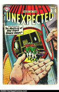 Silver Age (1956-1969):Horror, Tales of the Unexpected Group (DC, 1960s) Condition: Average GD+.Three cool ten-cent issues; #26, 32, and 51. Overstreet 20...(Total: 3 Comic Books Item)