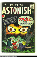 Silver Age (1956-1969):Science Fiction, Tales to Astonish #21 (Marvel, 1961) Condition: VG/FN. Hulk prototype issue. Tough to find pre-hero Marvel. Tan edges. Overs...