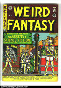 Golden Age (1938-1955):Science Fiction, Weird Fantasy #6 (EC, 1951) Condition: FN+. Robot cover by AlFeldstein. Overstreet 2003 FN 6.0 value = $117. ...