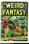 Golden Age (1938-1955):Horror, Weird Fantasy #7 (EC, 1951) Condition: VG/FN. Al Feldstein cover.Overstreet 2003 VG 4.0 value = $78; FN 6.0 value = $117. ...