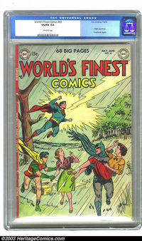 Century of Comics #1 (Eastern Color, 1933) CGC FN/VF 7.0 Cream to off-white pages. This scarce book almost never shows u...