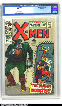 X-Men #40 Northland pedigree (Marvel, 1968) CGC NM 9.4 Off-white pages. Don Heck and George Tuska art. Overstreet 2003 N...