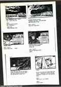 Original Comic Art:Miscellaneous, Victor Dal Chele - Storyboards (undated). A series of xerox copiesof storyboards from an unnamed (and probably unproduced) ...