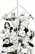 Original Comic Art:Covers, Brendon and Brian Fraim - Original Cover Art for Knights of theDinner Table Illustrated #20 (Kenzer & Co, 2002). Ready to c...
