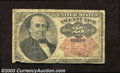 Fractional Currency:Fifth Issue, Fifth Issue 25c, Fr-1308, Good. This Walker note with long ...