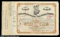 Stocks and Bonds:Certificates with Significant Autographs, August A. Busch - St. Louis Refrigerating and Cold Storage ...