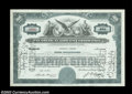 Stocks and Bonds:Certificates with Significant Autographs, Charles E. Fenner - Pan American Airways Corporation (...
