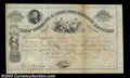 Stocks and Bonds:Certificates with Significant Autographs, Norvin Green - New Orleans & Ohio Telegraph Lessees (...
