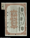 Stocks and Bonds:Certificates with Significant Autographs, George W. Pullman - Pullman Southern Car Company (Kentucky)...