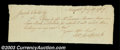 Stocks and Bonds:Certificates with Significant Autographs, Solomon Southwick - Early Printer