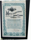 Stocks and Bonds:Certificates with Significant Autographs, John W. Young - Son of Brigham Young - Utah Western Railway ...