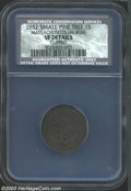 1652 SHILNG Pine Tree Shilling, Large Planchet VF20 Details, Clipped NCS. Noe-11, Crosby 2a-A1, R.4. 46.4 grains. Noe-11...