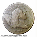 Half Cents: , 1794 1/2 C VF20 Corroded Uncertified. B-4b, C6a, R.6. ...