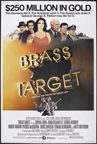 "Brass Target (MGM/UA, 1978). Poster (40"" X 60""). General George S. Patton (George Kennedy) investigates the th..."
