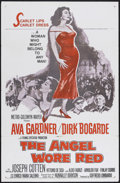 "Movie Posters:War, The Angel Wore Red (MGM, 1960). One Sheet (27"" X 41""). Drama/War.Starring Ava Gardner, Dirk Bogarde, Joseph Cotton and Vitt..."