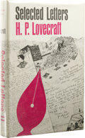 Books:First Editions, H. P. Lovecraft: Selected Letters, Volume II. Edited byAugust Derleth and Donald Wandrei (Sauk City: Arkham House, 1968...