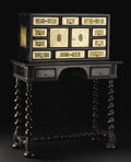 Furniture , A Continental Seventeenth Century Style Bronze Mounted Secretaire. Unknown maker, possibly Italian. Seventeenth Century. E...