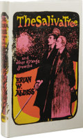 Books:First Editions, Brian W. Aldiss: The Saliva Tree. (London: Faber and Faber,1966), first edition, 232 pages, green cloth with gilt lette...