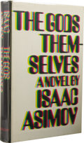 Books:First Editions, Isaac Asimov: The Gods Themselves. (Garden City, New York:Doubleday, 1972), first edition, 288 pages,yellow quarter-clo...