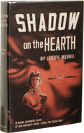 Books:First Editions, Judith Merril: Shadow on the Hearth. (New York: Doubleday& Company, 1950), first edition, 277 pages, jacket design byE...
