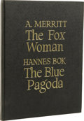 Books:First Editions, Abraham Merritt & Hannes Bok: The Fox Woman / The BluePagoda. (New York: New Collectors Group, 1946), first edition,fi...