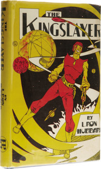 L. Ron Hubbard: The Kingslayer. (Los Angeles: Fantasy Publishing Co., Inc., 1949), first edition, 208 pages, dust jacket...